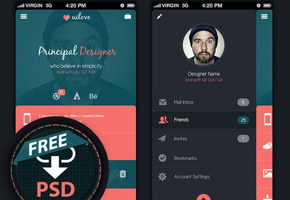 月底福利!30+酷炫实用的免费APP设计模板