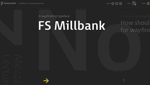 四两拨千斤!25个巧用字体排版帅气的优秀网页设计