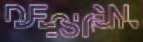 PS教程!手把手教你打造霓虹光线框文字效果 - 优设网 - UISDC