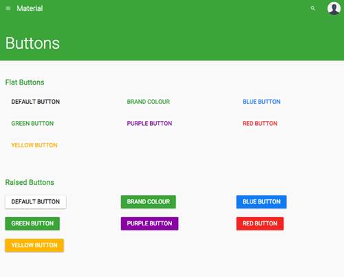 超实用!Material Design风格的前端框架免费下载