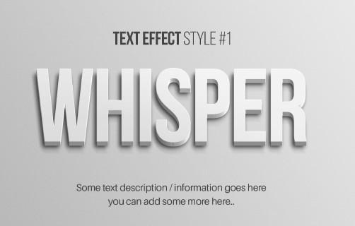 超赞福利!15种精致的字体效果PSD免费打包下载