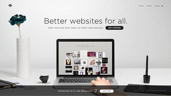 我的未来我做主!17个创业公司精雕细琢的优秀网页设计