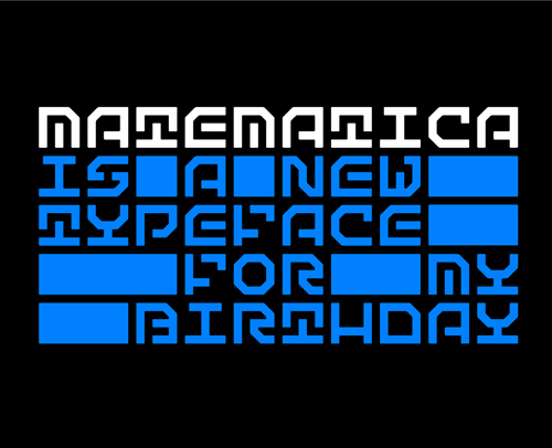 Matematica Free Font