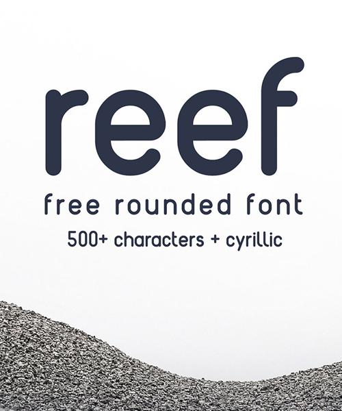 Reef_free_font