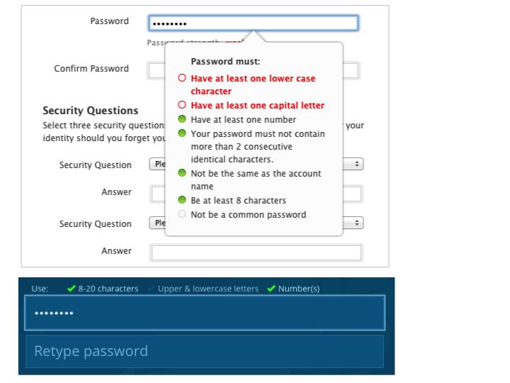 让用户输密码的正确姿势!简化密码设计的三个小秘籍