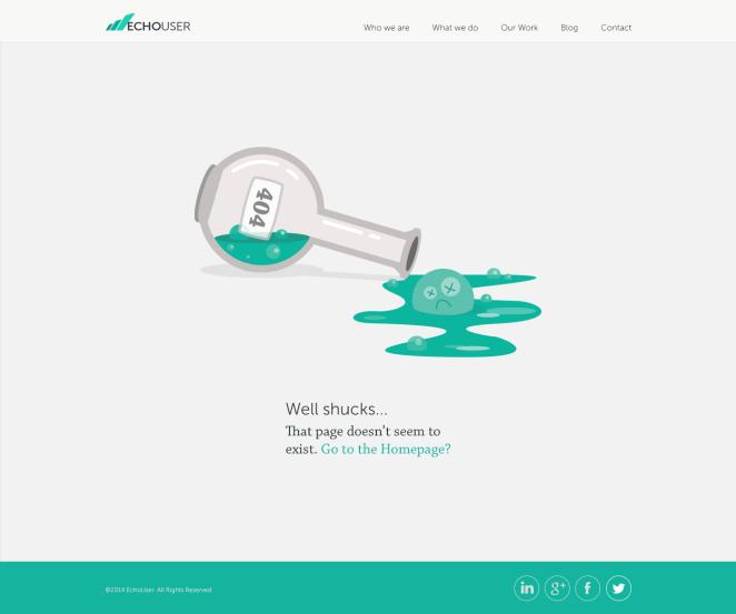 娓娓道来!50个实用设计思路帮你设计创意404页面(下)