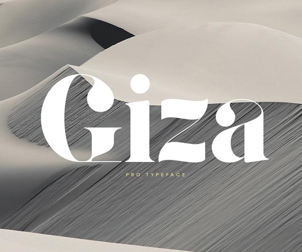 Giza Pro free fonts