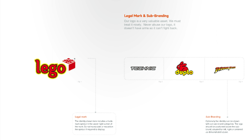 LEGO 視覺設計規范