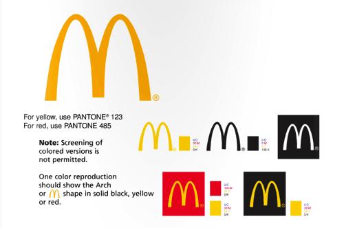 麥當勞 視覺設計規范
