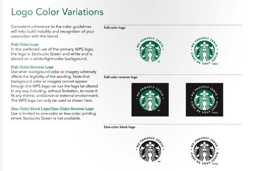 星巴克 視覺設計規范