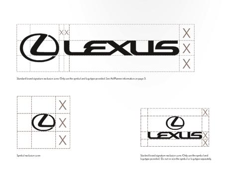 LEXUS 视觉设计规范