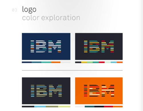 IBM 视觉设计规范