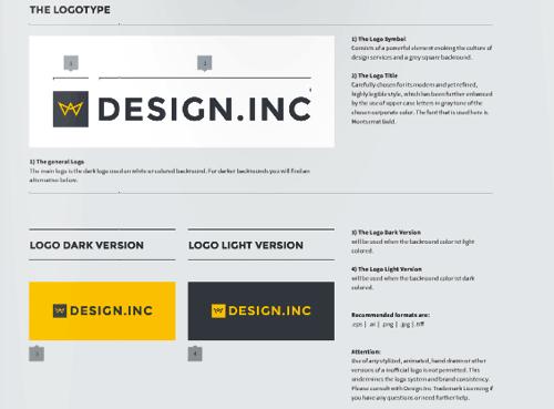 Design.INC 视觉设计规范