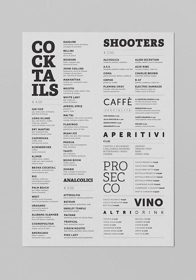 超实用!如何设计出层次分明精致易读的菜单