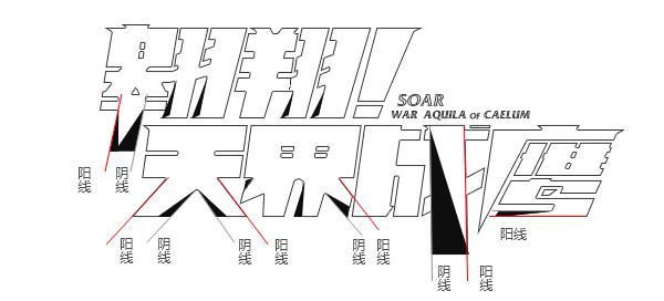 字体进阶篇!如何用阴阳收缩法做字体设计?