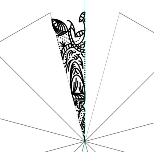 AI教程!手把手教你创建繁复之美的曼陀罗图案