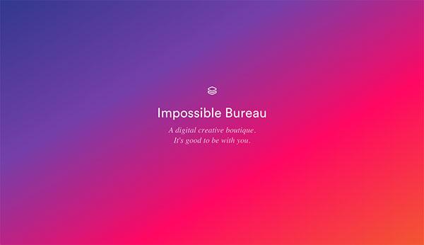 过渡的艺术!20个精巧微妙的渐变色网页设计
