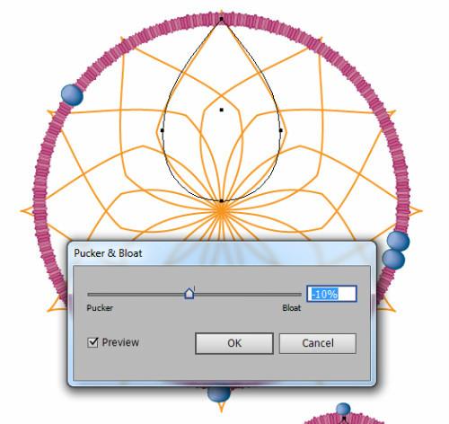 AI教程!手把手教你绘制一张雅致复古的捕梦网
