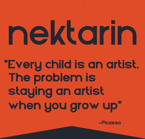 Nektarin free fonts