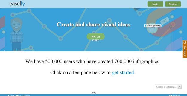 将信息视觉化!13款靠谱实用的信息图制作工具
