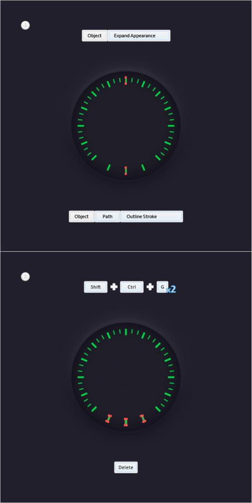 AI初级教程!手把手教你绘制一个逼真的车速表盘