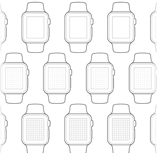 再来一发!一组超实用的Apple Watch 模板免费下载