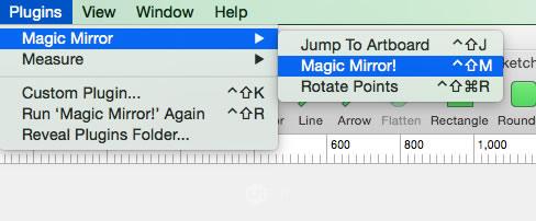 不到10KB!Sketch超实用插件Magic Mirror帮你一键展示作品