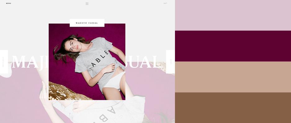 2015年最优秀的20款网站配色方案(附配色工具) - 第16张  | 鹿鸣天涯