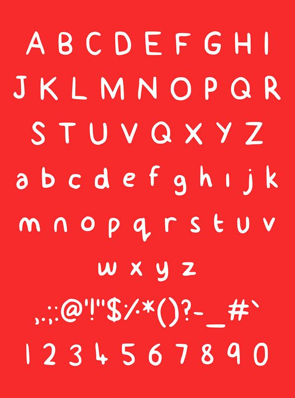 就是你了!10个高格调的英文字体免费打包下载