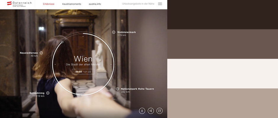 2015年最优秀的20款网站配色方案(附配色工具) - 第20张  | 鹿鸣天涯