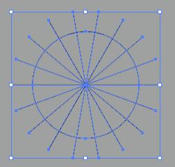 AI教程!教你用路径混合工具绘制超酷炫的字体效果