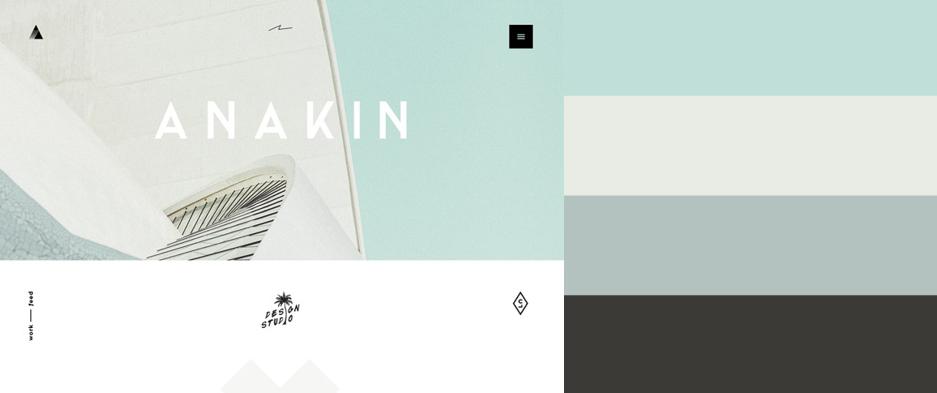2015年最优秀的20款网站配色方案(附配色工具) - 第5张  | 鹿鸣天涯