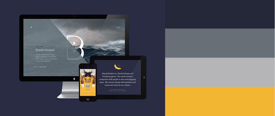 2015年最优秀的20款网站配色方案(附配色工具) - 第22张  | 鹿鸣天涯