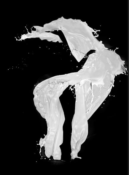 PS新手教程!手把手教你打造广告级的牛奶喷溅美女人像效果