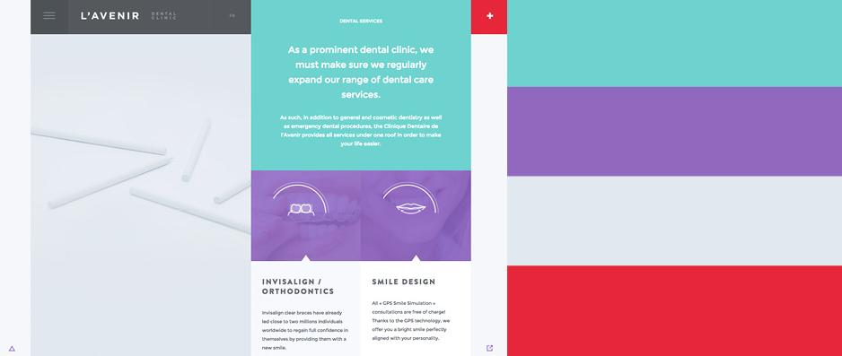 2015年最优秀的20款网站配色方案(附配色工具) - 第8张  | 鹿鸣天涯