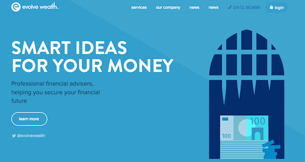 快来学习!25个细致微妙的扁平化2.0风格网页设计