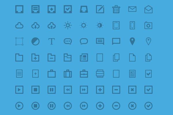 图标大放送!32组超精致的图标素材免费下载