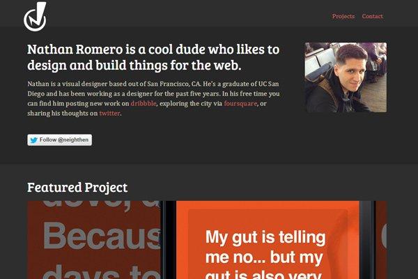 色彩版式都好看!25个创意灵动的优秀深色网站
