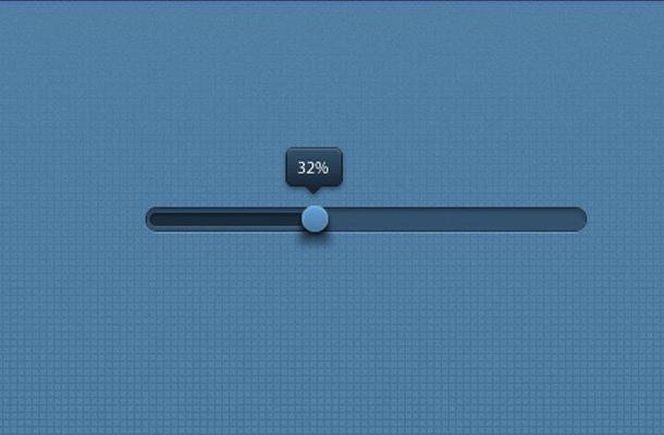 progress slider indicator psd