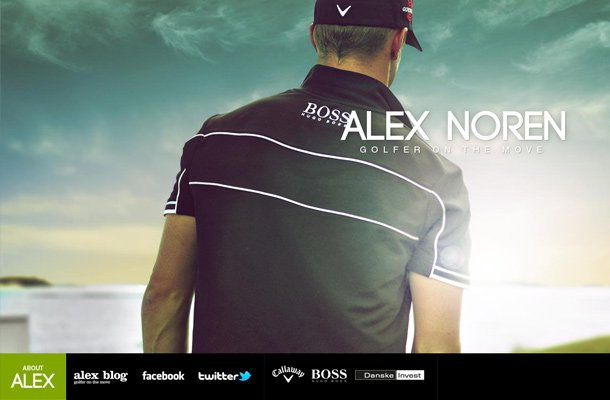 alex noren professional golf athelete website