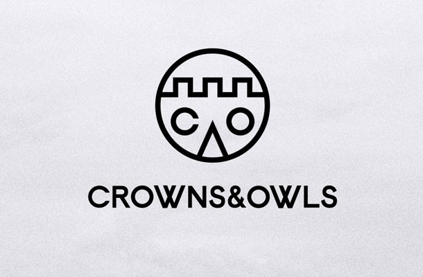 crown and owls website design