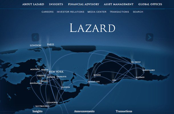lazard financial company website