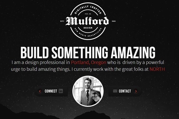 ryan mulford freelance design portfolio layout