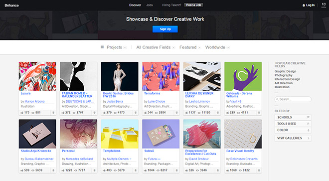 21个工业设计师必看的网站