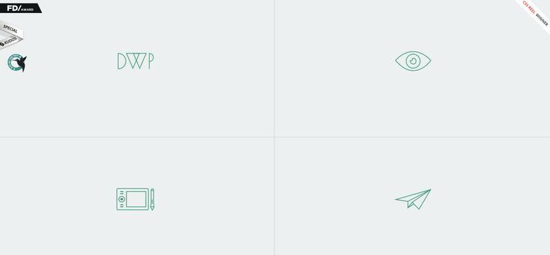 线条之美!20个优秀网页告诉你如何善用线性图标