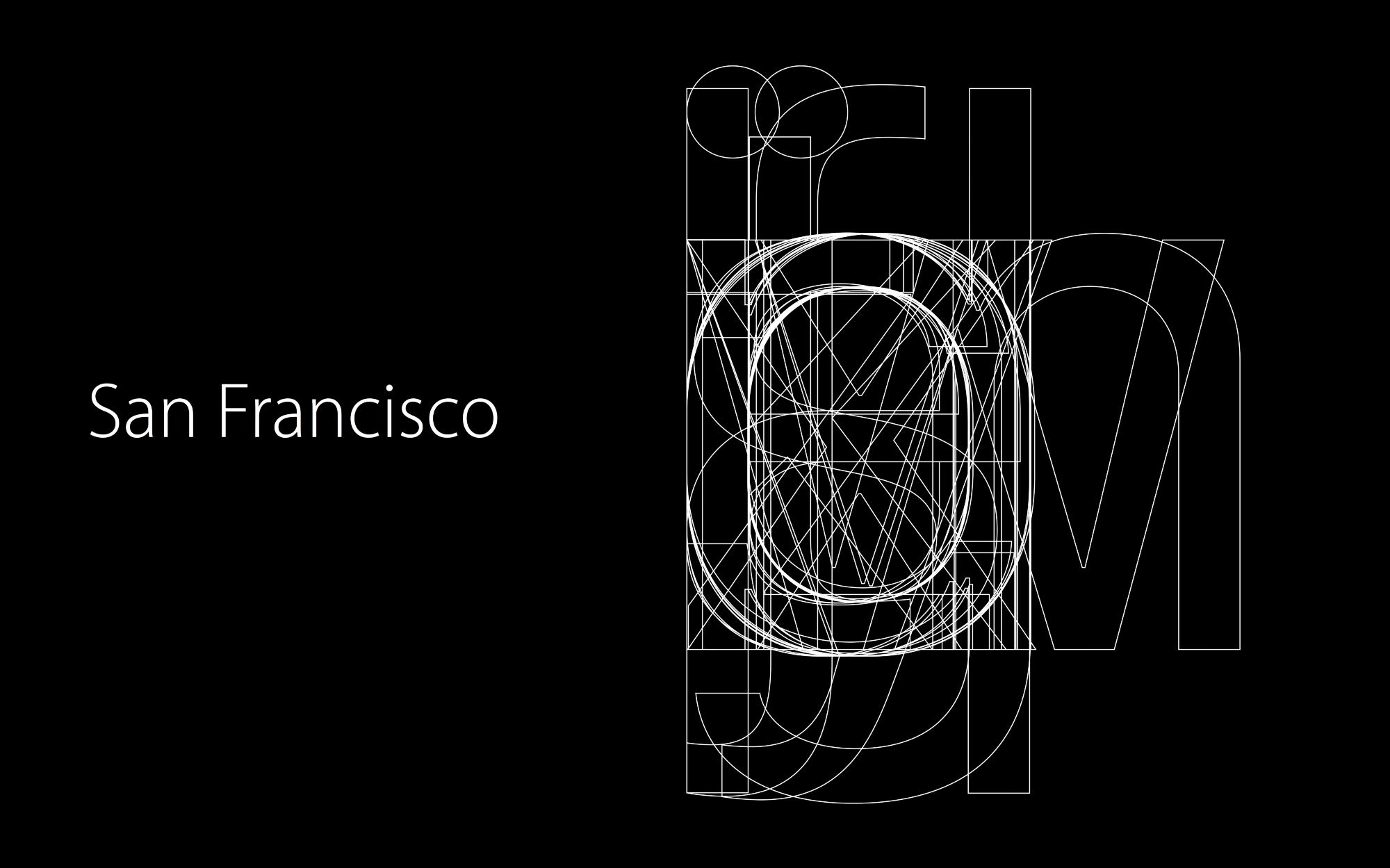 流言终结者!为你解读苹果San Francisco字体的秘密