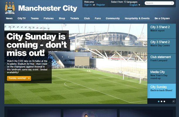 mcfc manchester city fc website sports