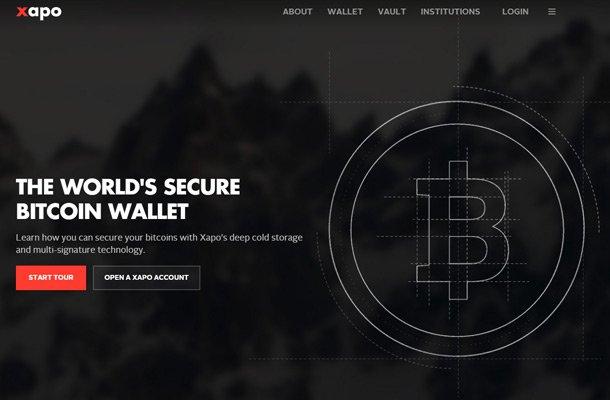 xapo bc bitcoin wallet homepage