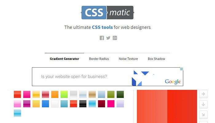 前端人员必收!10个省时高效的CSS 3代码生成工具