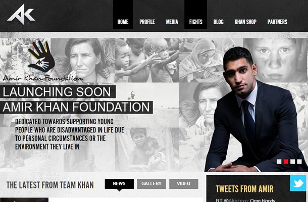 amir king khan boxer professional website